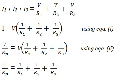 equation for ohm law
